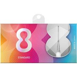 Target 8 flights Wit Standaard