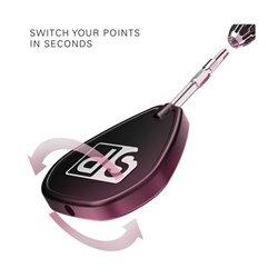 Target Dartpunten Swiss Zwart 30mm