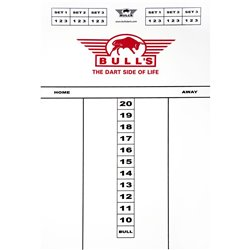 Bull's Schrijfbord Flex Kunststof 45x30cm