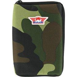 Bull's Dartcase Nylon Camouflage Groot