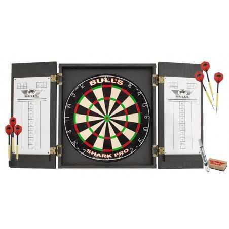 Bull's Dartset PRO (dartbord Met Kabinet)