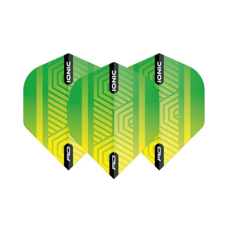 Dartflights Hardcore Ionic Green/Yellow
