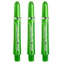 Harrows Shafts Supergrip Groen 2BA (short)